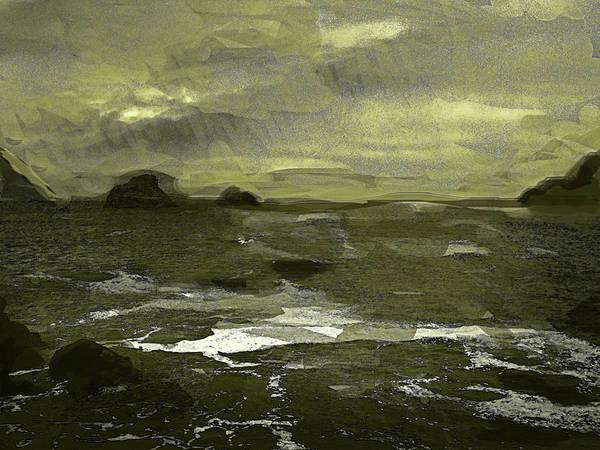 Painting - Mar De Violencia  by Paul Sutcliffe