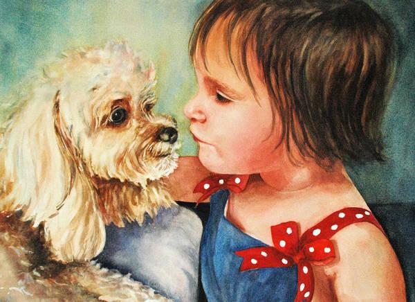 Painting - Mara Meets Mocha by Diane Fujimoto