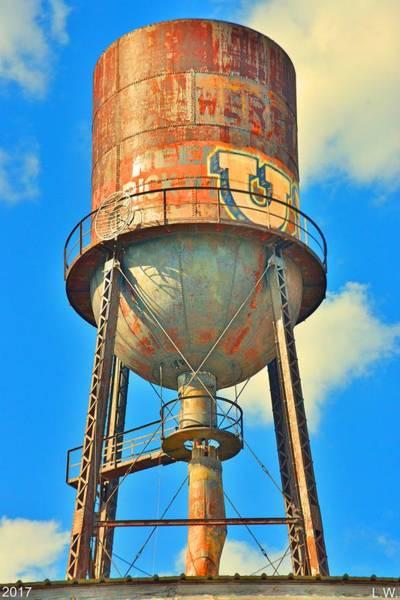 Photograph - Marathon Motors Water Tower by Lisa Wooten