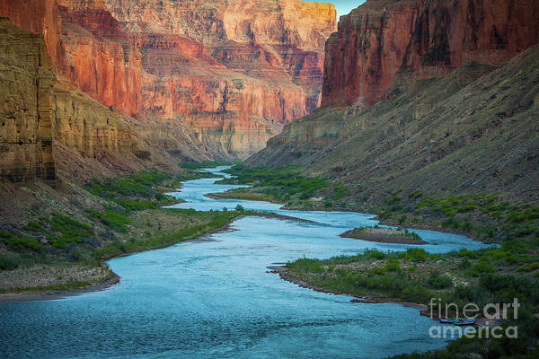 Photograph - Marble Canyon Rafters by Inge Johnsson
