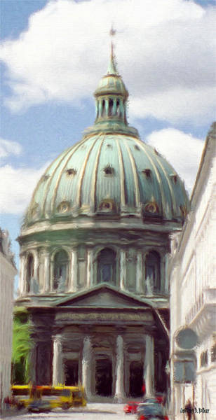 Painting - Marble Church by Jeffrey Kolker