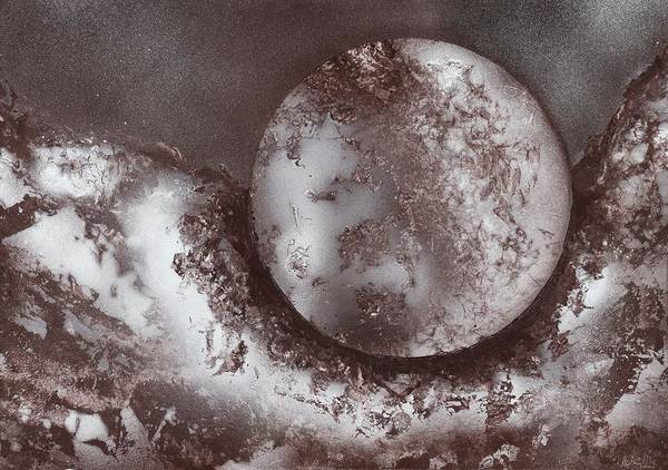 Wall Art - Painting - Marble Planet by Nandor Molnar