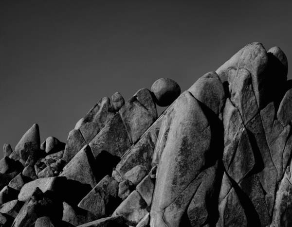 Photograph - Marble Rock Formation B And W Version by Paul Breitkreuz