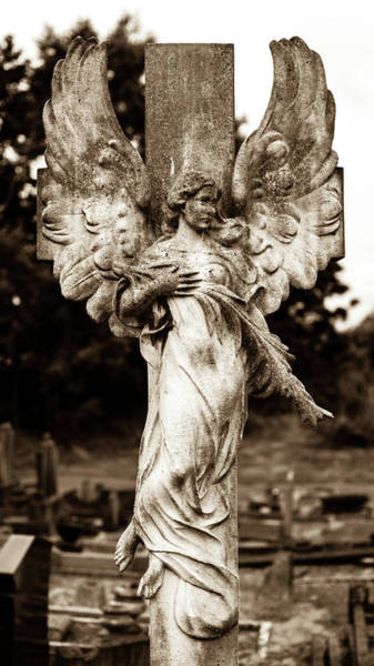 Photograph - Marble Statue Tomb C by Jacek Wojnarowski