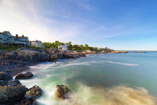Photograph - Marblehead Coastline by Brian Hale
