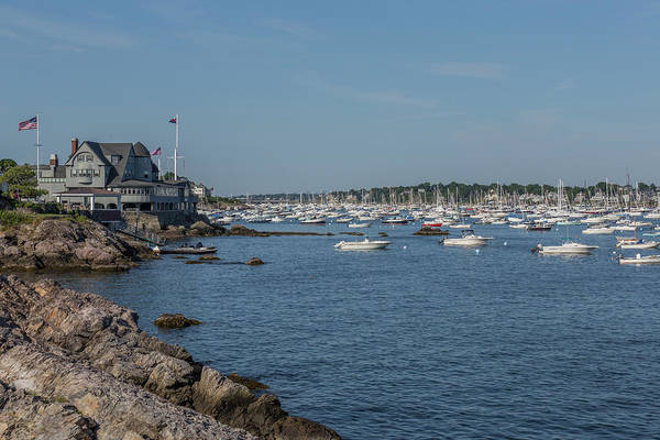 Photograph - Marblehead Harbor by Brian MacLean