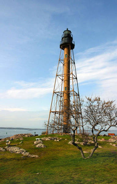 Marblehead Light Art Print