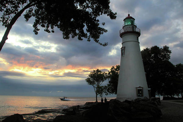 Photograph - Marblehead Lighthouse by Angela Murdock