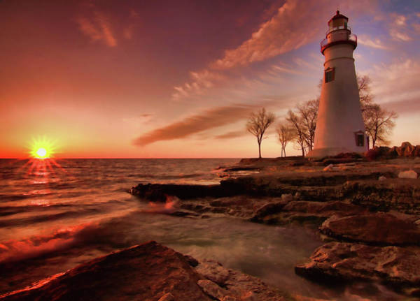 Wall Art - Photograph - Marblehead Lighthouse Sunrise by Dan Sproul