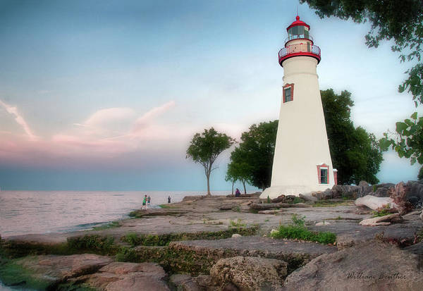 Photograph - Marblehead Lighthouse by William Beuther