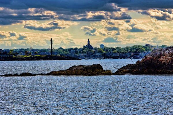 Photograph - Marblehead Points To The Ocean by Jeff Folger