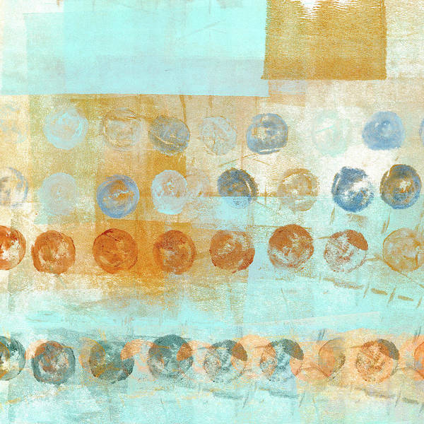 Dots Wall Art - Mixed Media - Marbles Found Number 2 by Carol Leigh