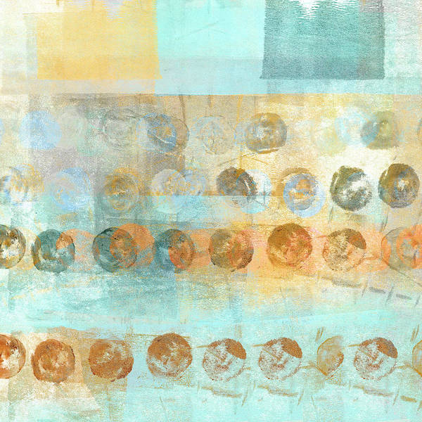 Dots Wall Art - Mixed Media - Marbles Found Number 3 by Carol Leigh