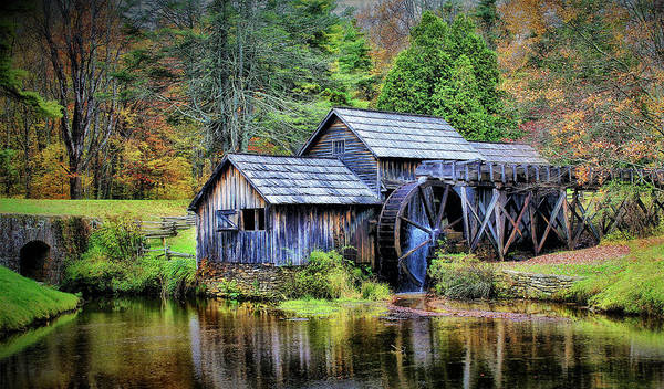 Photograph - Mabry Mill A Blue Ridge Parkway Favorite by Ola Allen