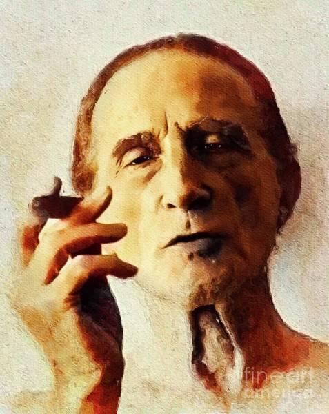 Wall Art - Painting - Marcel Duchamp, Famous Artist by John Springfield