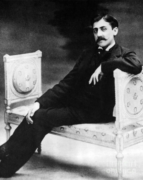 Intellectual Photograph - Marcel Proust, French Author by Omikron
