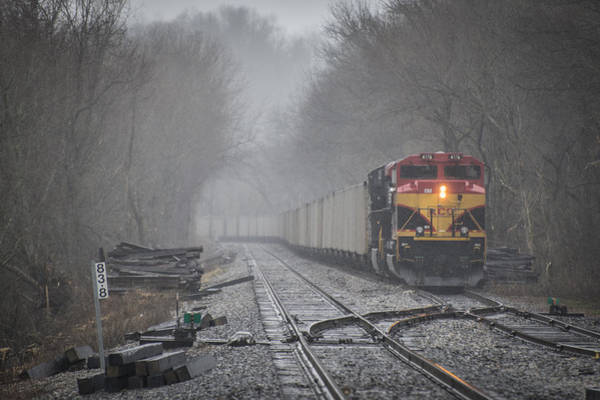 Norfolk Southern Railway Wall Art - Photograph - March 26. 2015 - Kansas City Southern Engine 4178 by Jim Pearson
