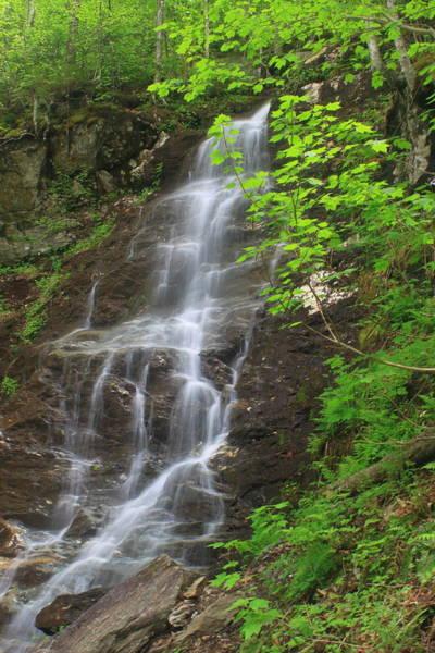 Wall Art - Photograph - March Cataract Falls Mount Greylock Spring Green by John Burk