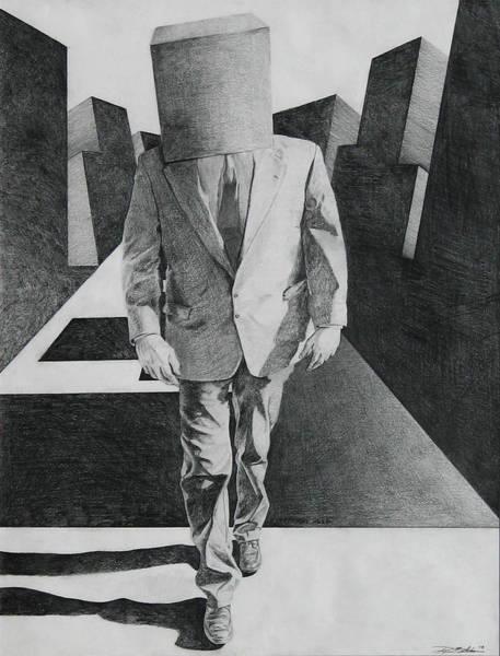 Wa Drawing - March Of Adaptation by Ryan Babcock