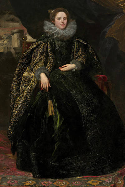 Painting - Marchesa Balbi by Anthony van Dyck