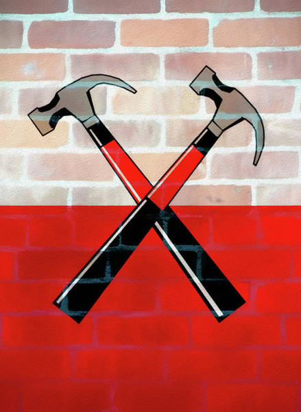 Mixed Media - Marching Hammers The Wall by Dan Sproul