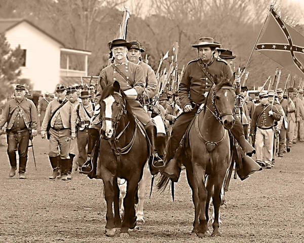 Wall Art - Photograph - Marching Off The Field Of Battle by Frank Savarese
