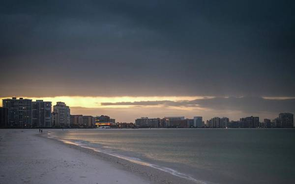 Photograph - Marco Island Sunrise Dark by Framing Places