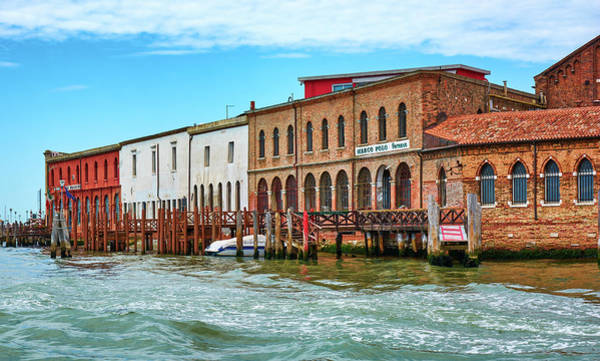 Photograph - Marco Polo Fornace In Murano, Italy by Fine Art Photography Prints By Eduardo Accorinti