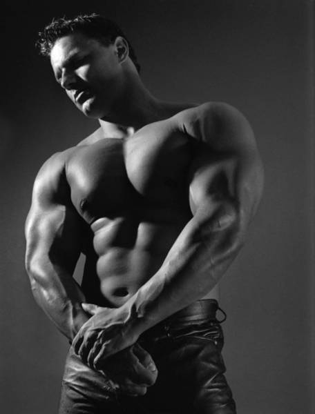 Physique Photograph - Marcus 2 by Thomas Mitchell