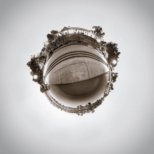 Photograph - Marcy Casino - Tiny Planet by Chris Bordeleau