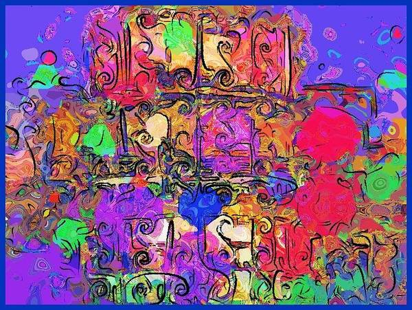 Digital Art - Mardi Gras by Alec Drake