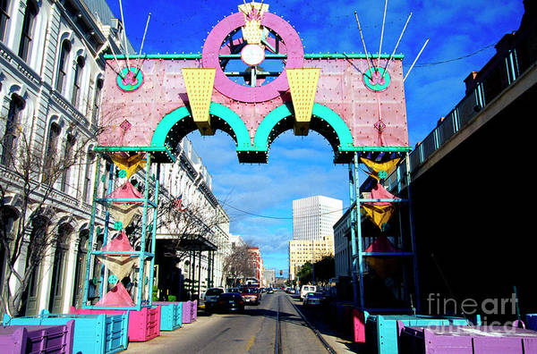 Photograph - Mardi Gras In Galveston by Thomas R Fletcher