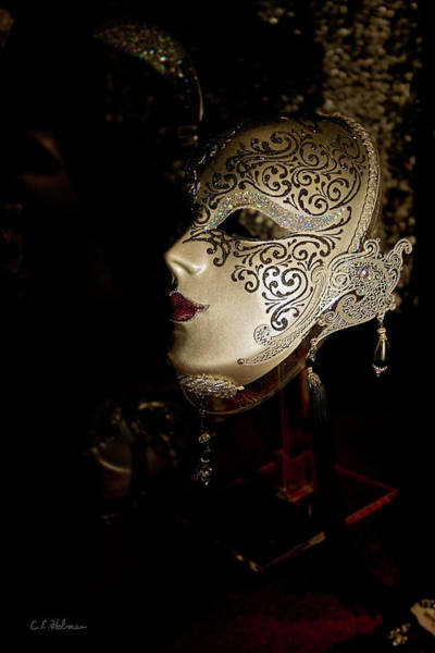Photograph - Mardi Gras Mask by Christopher Holmes