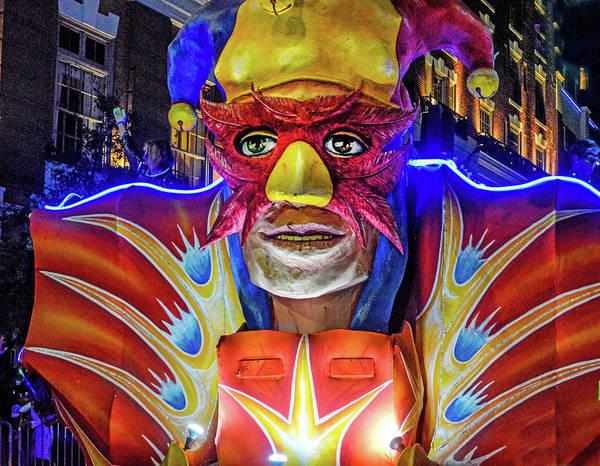 Digital Art - Mardi Gras Mask Float by Michael Thomas
