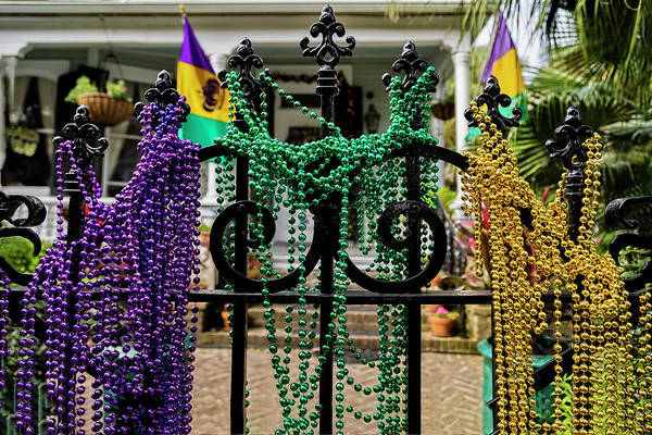 Photograph - Mardi Gras Time In New Orleans by Kay Brewer