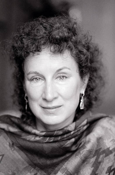 Photograph - Margaret Atwood by Shaun Higson