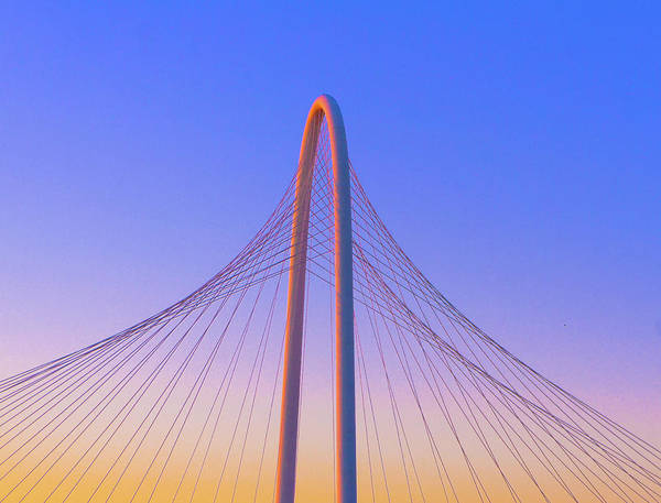 Wall Art - Photograph - Margaret Hunt Hill Bridge In Dallas, Texas. by Art Spectrum