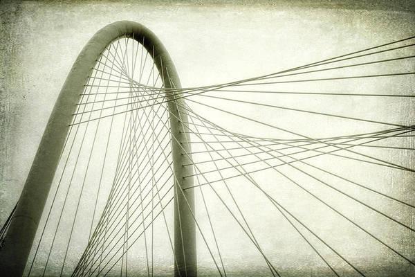 Photograph - Margaret Hunt Hill Bridge Shooting Upwards by Joan Carroll