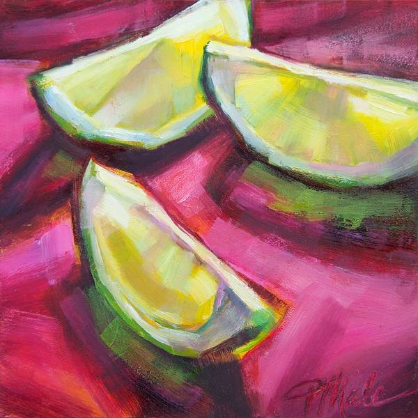 Painting - Margarita Limes by Tracy Male