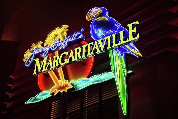 Photograph - Margaritaville Sign by Lynn Bauer