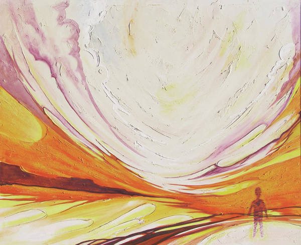 Painting - Margin Of Understanding by RB Anderson