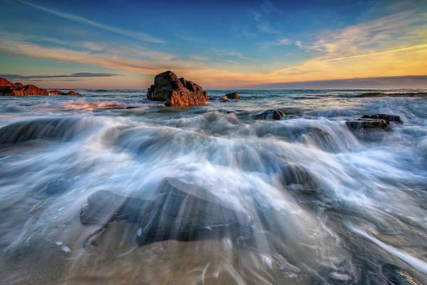 Photograph - Marginal Way Awash by Rick Berk