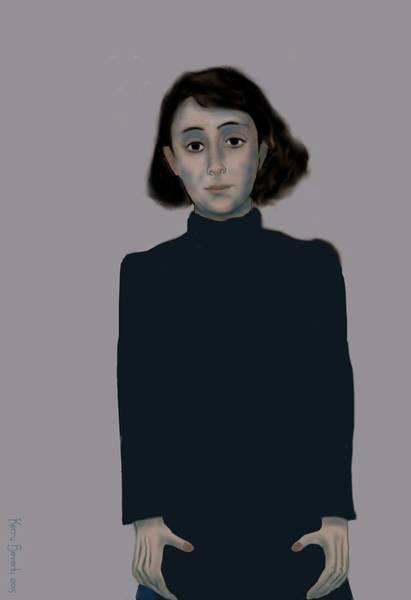 Digital Art - Marguerite by Brandy Beverly