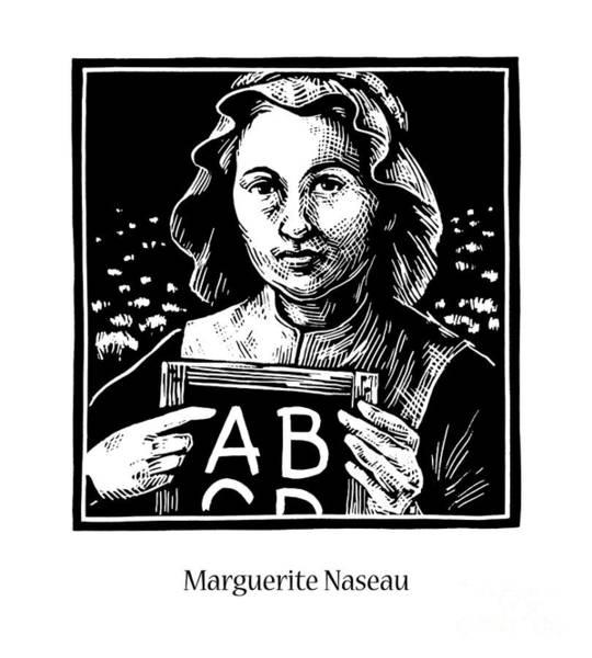 Painting - Marguerite Naseau - Jlnas by Julie Lonneman