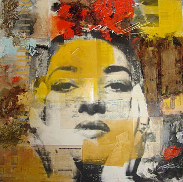 Calla Mixed Media - Maria Callas by Claus Costa