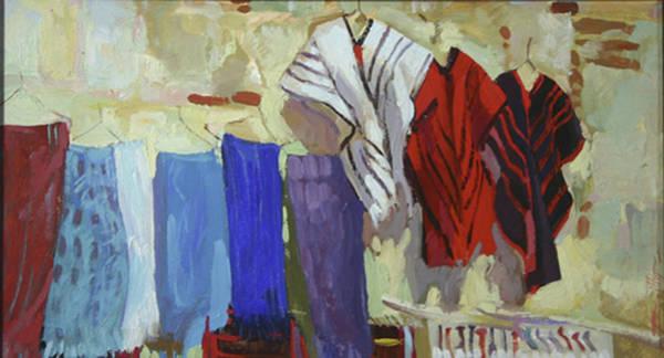 Maria Francesco's Weavings Art Print