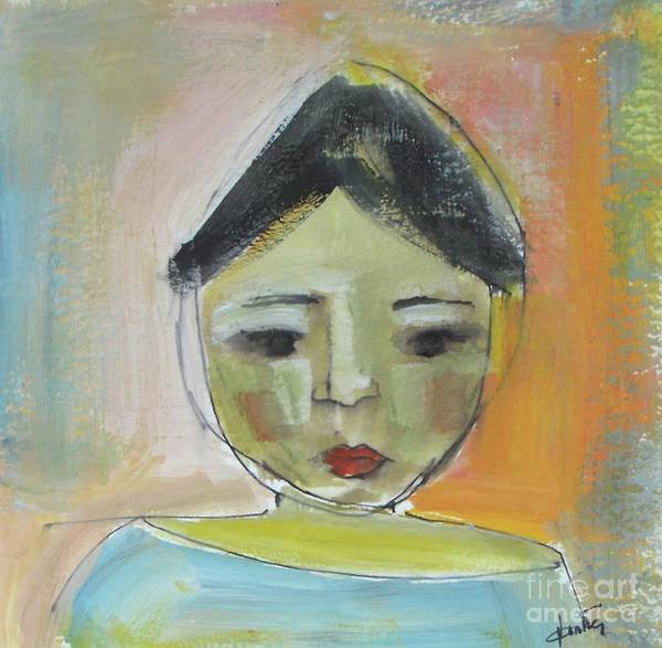 Selfportrait Painting - Maria by Vesna Antic