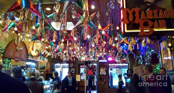 Photograph - Mariachi Bar In San Antonio by Rosanne Licciardi