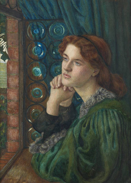 Wall Art - Painting - Mariana by Marie Spartali Stillman