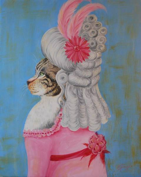 Painting - Marie Catoinette by Emily Page